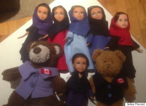 B.C. Mom Makes Over Bratz Dolls To Comfort Syrian