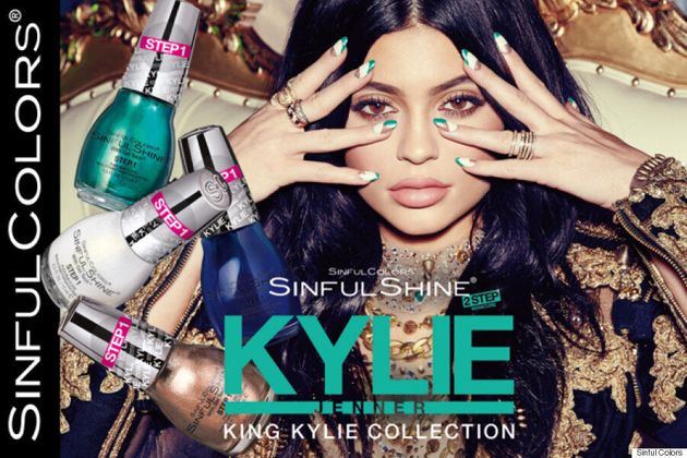 Kylie Jenner To Launch 20-Piece Nail Polish