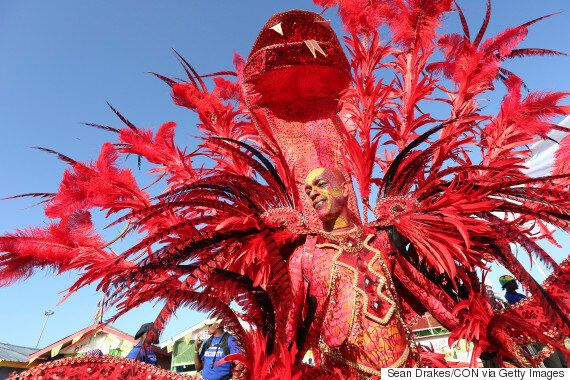 Carnival 2016 In Trinidad And Brazil: All Bodies