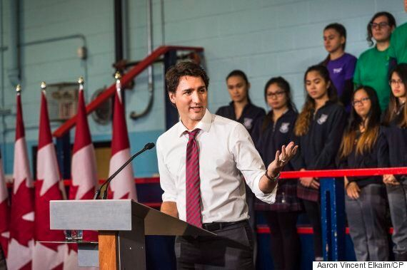 Justin Trudeau Marks 100 Days As PM With Big Boost To Canada Summer Jobs