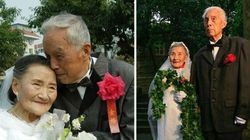 These 98-Year-Olds Just Re-Did Their Wedding Photos 70 Years