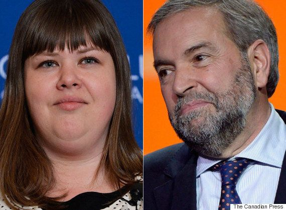 Rebecca Blaikie, NDP President, Thinks Mulcair Needs 70 Per Cent Support To Stay On As