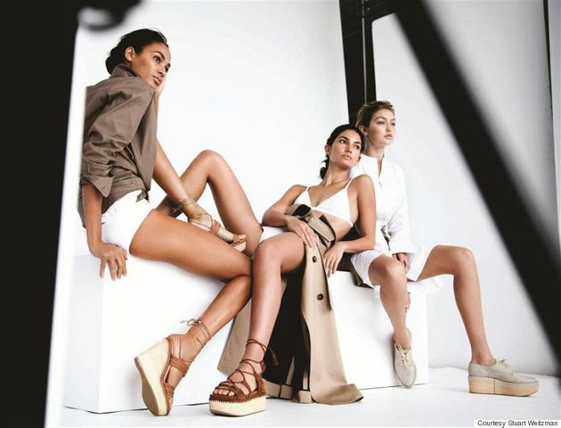 Gigi Hadid, Joan Smalls And Lily Aldridge Get Naked For Stuart Weitzman