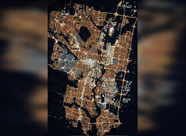 Calgary's Transition To LED Lights Can Be Seen From Space