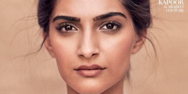 Sonam Kapoor Goes Glam For Harper's Bazaar