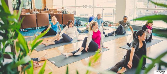 Vancouver Airport Introduces Yoga Space For