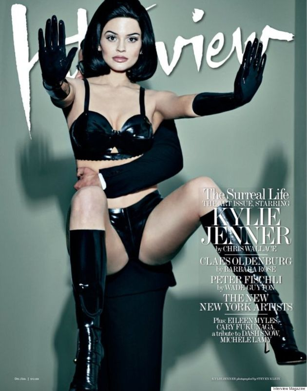 Kylie Jenner Poses In A Wheelchair On The Cover Of Interview