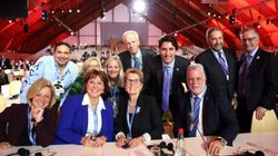This Photo Of Trudeau With Other Leaders Is Something