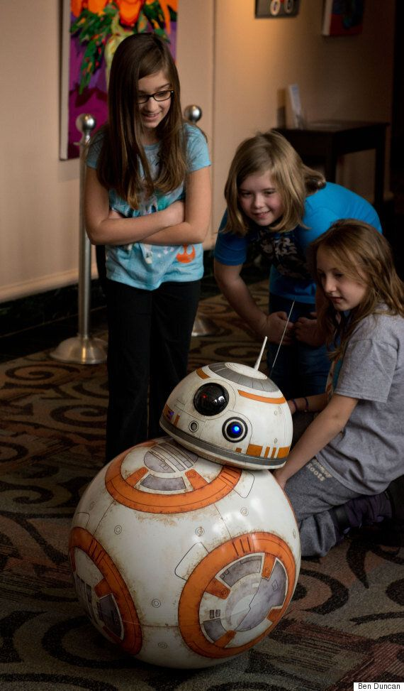 BB-8 From 'Star Wars: The Force Awakens' Rebuilt By Canadian