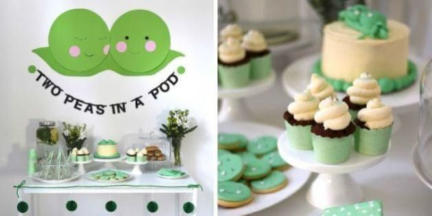 Twin Baby Shower: 21 Ideas To Plan A Party For