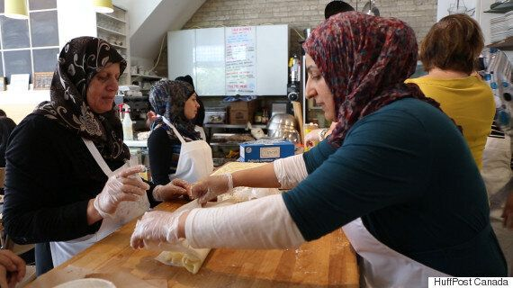 Newcomer Kitchen cooks up business venture for Syrian refugee women (HuffPost, July 11/16)