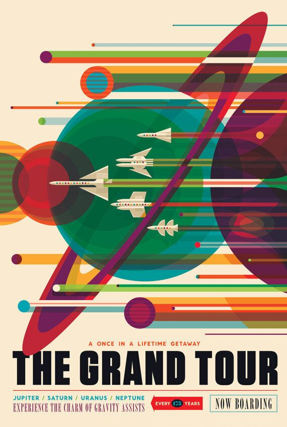 NASA Posters Will Make You Want To Visit