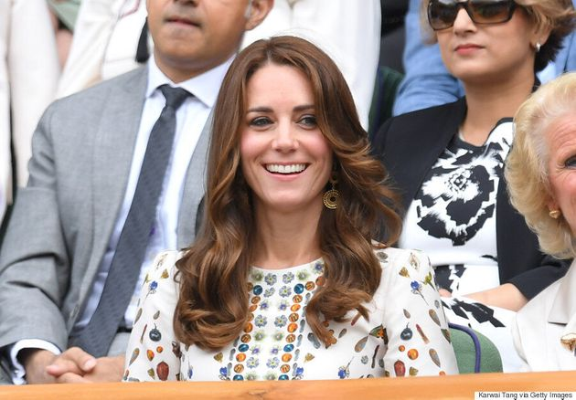 Kate Middleton Wears Intricately-Printed Alexander McQueen Dress To