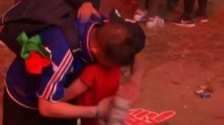 Sweet Portuguese Boy Consoles Weeping French Fan After Euro