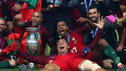 Overtime Goal Scores Portugal Its First Euro Cup