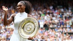 Serena Williams Wows With Record-Matching Wimbledon
