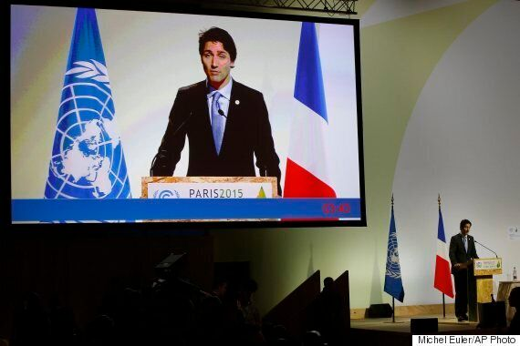 COP21: Trudeau Says Climate Change Fight Begins At Home, 'No Time To
