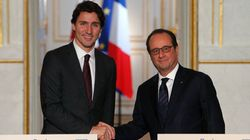 Trudeau Meets Hollande, French Appear OK With ISIS Jet