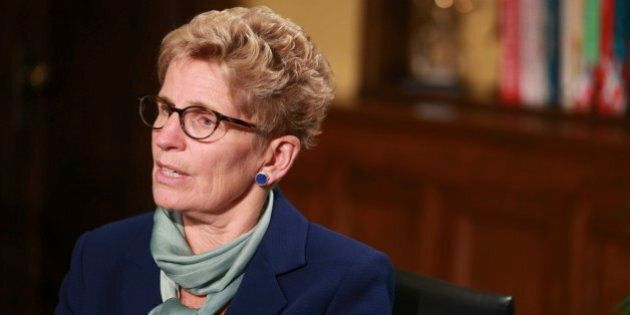 TORONTO, ON - OCTOBER 23: Ontario Premier Kathleen Wynne during a one-on-one interview with Toronto Star's...