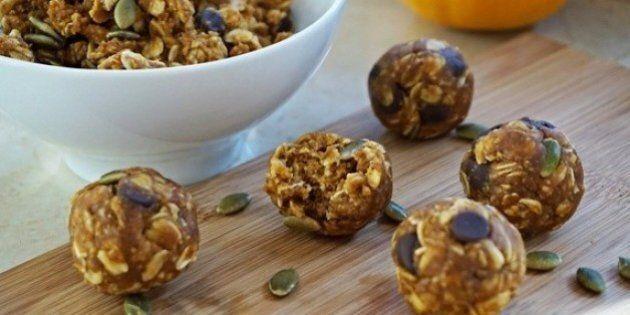 Pumpkin Spice Energy Balls: A Healthy, Balanced