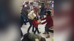 Woman Appears To Steal Black Friday Loot From Kid, Skeptics Cry