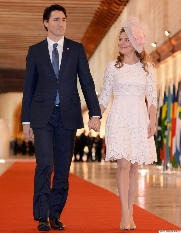 Sophie Grégoire-Trudeau Has A Kate Middleton Moment In