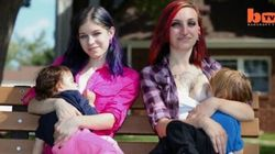 Two Moms Explain Why They Breastfeed Each Other's