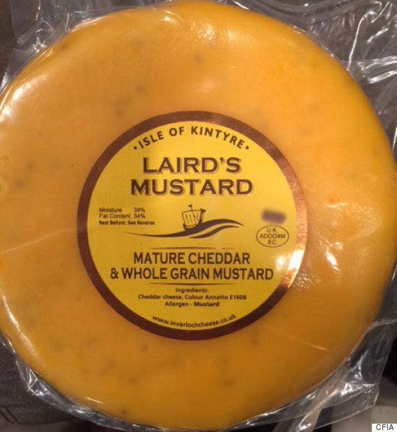 Cheese From Scotland Recalled In Canada Due To Possible