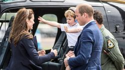 Prince George Throws Royal Tantrum At Air