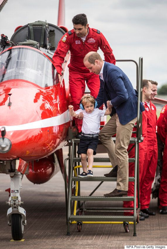 Prince George Photos: Little Royal Continues Family Tradition of