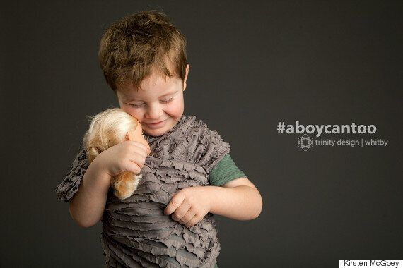 A Boy Can Too: New Photo Series Breaks Gender Norms In Beautiful