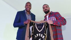 Drake's New Custom Raptors Jacket Has A Hidden