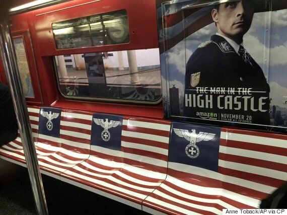 Ads Featuring Nazi Imagery Pulled From NYC