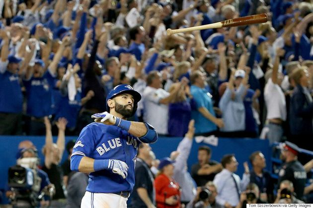 This Jose Bautista Bat Flip Sweater Is The Ultimate In Ugly Christmas