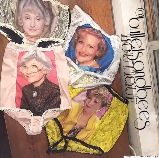 'Golden Girls' Underwear Brings A Whole New Meaning To Granny