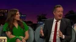 Mayim Bialik Had Her Own Response To Piers Morgan's Cleavage