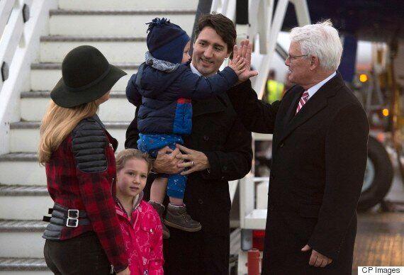 Justin Trudeau Makes European Tour A Family