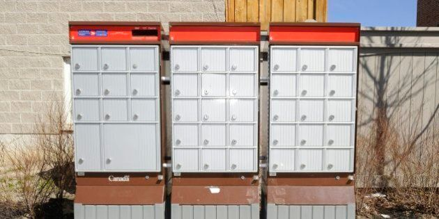 Canada Post's Community Mailboxes In P.E.I. Left Frozen Solid After Temperature