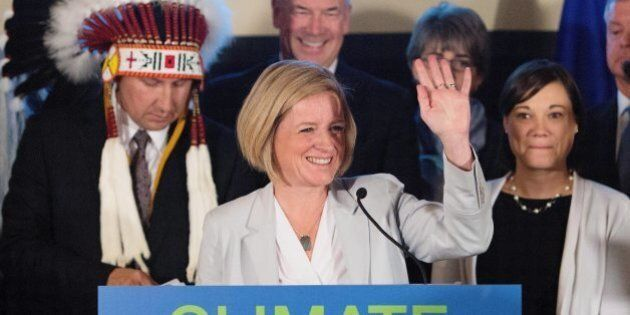 Rachel Notley Says Alberta's Carbon Tax Revenue Will Only Go To Green