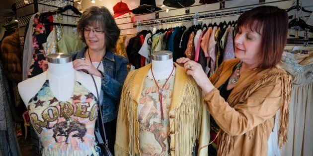 Calgary Stampede Style Goes Second-Hand Thanks To Economic