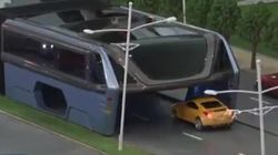 Bus That Can Drive Over Cars Unveiled In