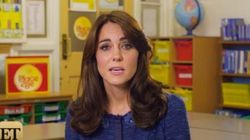 Kate Releases Message In Support Of Kids' Mental