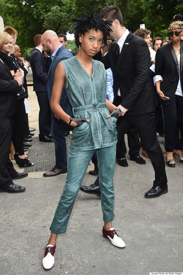 Willow Smith Brings The Cool Factor To Chanel Couture, Talks About The Importance Of Her