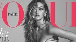 Gigi Hadid Goes Nude On The Cover Of Vogue