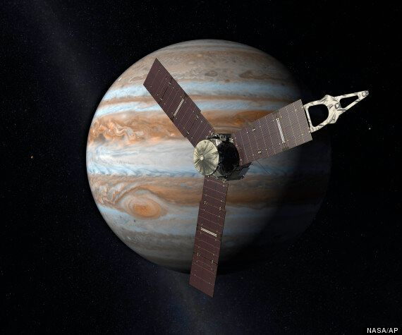 NASA's Juno Spacecraft Nears Jupiter After Travelling Almost 5