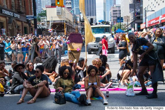 Black Lives Matter Protest Proves Pride Needs More Empathy, Less