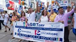 Tories Work In Playful Jab At Trudeau During Pride
