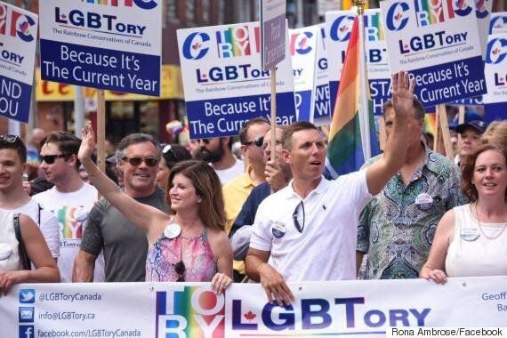 Conservatives Work In Playful Jab At Trudeau During Pride
