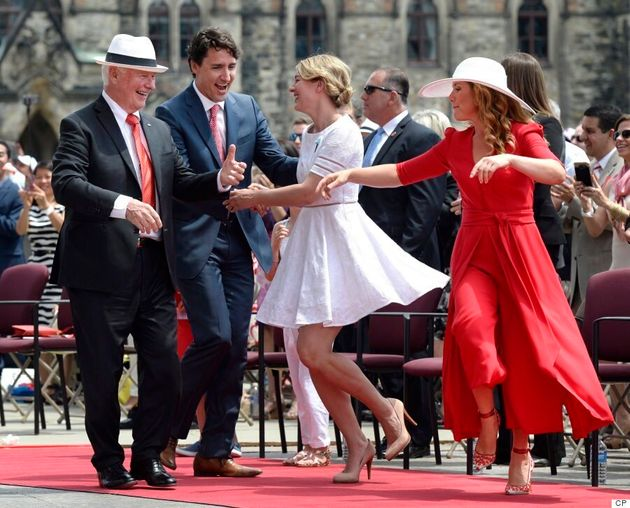 Sophie Grégoire Trudeau Is The Epitome Of Elegance At Canada Day