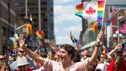 Trudeau Makes History By Marching In Toronto Pride